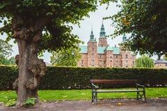 Rosenborg Castle και κήπος στην Κοπεγχάγη Στοκ Φωτογραφίες