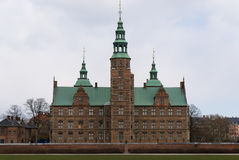 Rosenborg Castle. Seen from the Castle Gardens in Copenhagen, Denmark stock photography