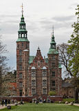 Rosenborg castle. In Copenhagen, Denmark Stock Image