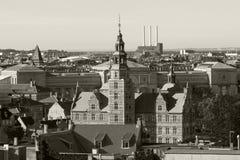 The Rosenborg castle stock photo