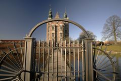 Rosenborg Castle Cloosed Royalty Free Stock Photo
