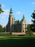 Rosenborg Castle in Copenhagen. Denmark Royalty Free Stock Photos