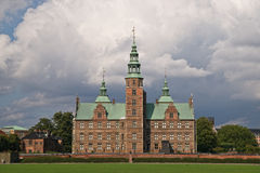 Rosenborg Castle in Copenhagen, Denmark Royalty Free Stock Photo