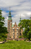 Rosenborg Castle in Copenhagen, Denmark Stock Photography