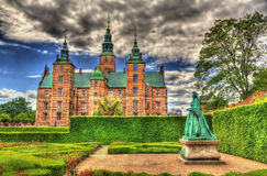 Rosenborg Castle in Copenhagen Royalty Free Stock Photos