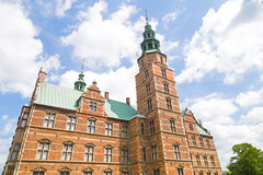 Rosenborg castle in Copenhagen, Denmark. Stock Photos