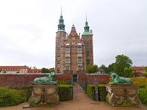 Rosenborg Castle in Copenhagen, Denmark Stock Image