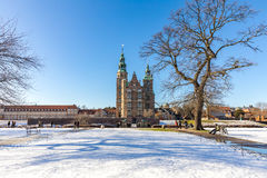Rosenborg Castle Copenhagen Denmark Royalty Free Stock Photo
