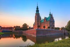 Rosenborg Castle in Copenhagen, Denmark Stock Photos