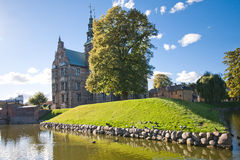 Rosenborg Castle. Danish: Rosenborg Slot is a renaissance castle located in Copenhagen, Denmark. The castle was originally built as a country summerhouse in Stock Photos