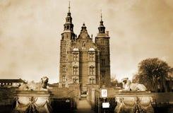 Rosenborg Castle Denmark Royalty Free Stock Images