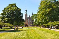 Rosenborg Castle and garden, Copenhagen Royalty Free Stock Photography