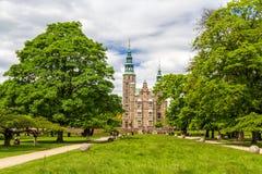Rosenborg Castle Gardens in Copenhagen Royalty Free Stock Image