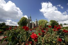 Rosenborg Castle in Kings Garden Royalty Free Stock Photos