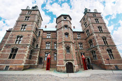 Rosenborg Castle situated at centre of Copenhagen Royalty Free Stock Photos