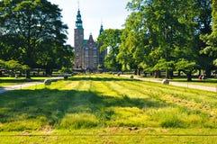 rosenborg copenhagen Дании замока Стоковое Фото