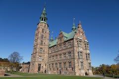 rosenborg copenhagen Дании замока стоковые фотографии rf
