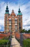 rosenborg copenhagen замока Стоковые Фотографии RF