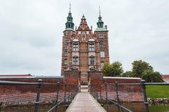 rosenborg copenhagen замока Стоковое Изображение