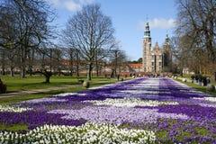 rosenborg di Copenhaghen fotografia stock