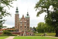 Rosenborg Kasztel kasztelem lokalizującym przy Kopenhaga jest Zdjęcia Stock