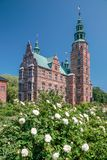 Rosenborg Palace in Copenhagen Royalty Free Stock Photo