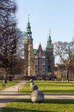 Rosenborg palace, Copenhagen Royalty Free Stock Images