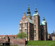 Rosenborg Schloss 2 lizenzfreies stockbild