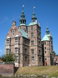 Rosenborg Slot (Castle), Copenhagen, Denmark Royalty Free Stock Images