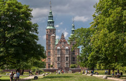 Rosenborg Slot Copenhaguen Denmark Royalty Free Stock Photos
