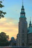 Rosenborg slott - Köpenhamn, Danmark royaltyfria bilder