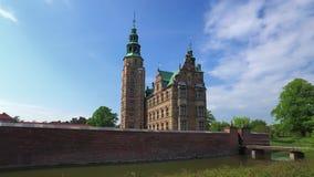 Rosenborg slott, K?penhamn, Danmark arkivfilmer