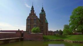 Rosenborg slott, K?penhamn, Danmark stock video