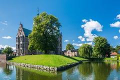 Rosenborg slottträdgårdar och slotten i Köpenhamn Royaltyfri Bild
