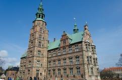 RosenborgSlot, Копенгаген, Дания стоковые фотографии rf