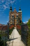 Rosenburg kasztel w Kopenhaga, Dani Fotografia Stock