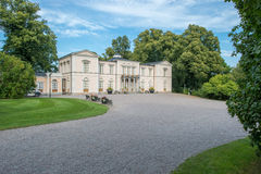 Rosendal Palace a Royal Castle in Sweden Stock Photography