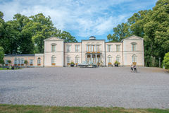 Rosendal Palace a Royal Castle in Sweden Royalty Free Stock Photo