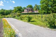 Rosendals trädgård i Stockholm arkivbild
