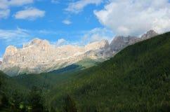 Rosengarten in Dolomiet Italië Stock Afbeelding