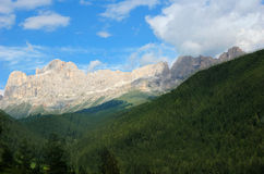 Rosengarten in Dolomites Italy Stock Image