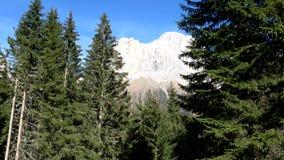 Rosengarten Group, South Tyrol, Italy stock footage