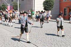 Rosenheim costume parade Stock Photos