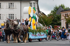 Rosenheimer Herbstfest Stock Photo