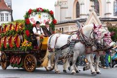 Rosenheimer Herbstfest Royalty Free Stock Images