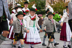 Rosenheimer Herbstfest Royalty Free Stock Photos