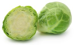 Rosenkohl or Brussels sprout Stock Photos