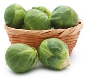 Rosenkohl or Brussels sprout Royalty Free Stock Photography