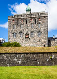 Rosenkrantz Tower at Bergenhus Fortress Stock Photo