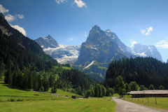 Rosenlaui in Berner Oberland, Switzerland Royalty Free Stock Photography